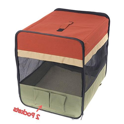 "Favorite Soft-Side Visit Travel Foldable Pet 36""L x x 29""H, XL"
