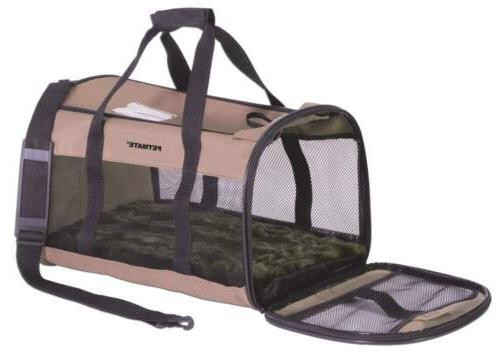 soft sided kennel cab pet carrier mesh