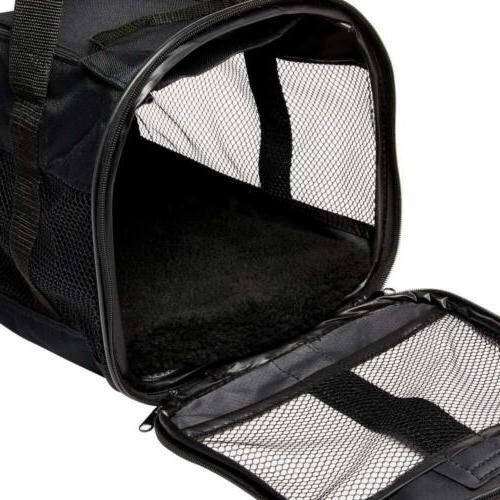 Petmate Soft-Sided Kennel Pet Top Two Black