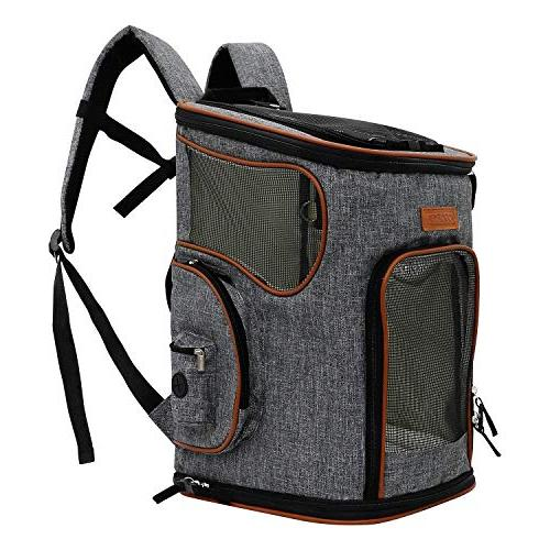 soft sided pet carrier backpack