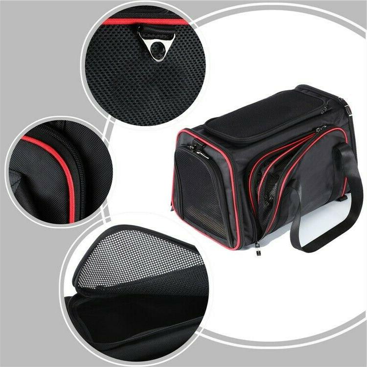 Petopia Sided Pet Carrier Dog&Cat Airline Approved