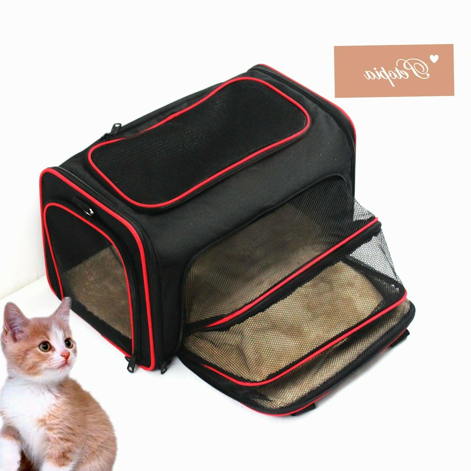 soft sided pet carrier dog and cat