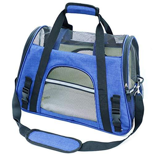 soft sided pet carrier two