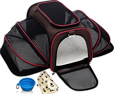 softsided carriers expandable pet cat for small