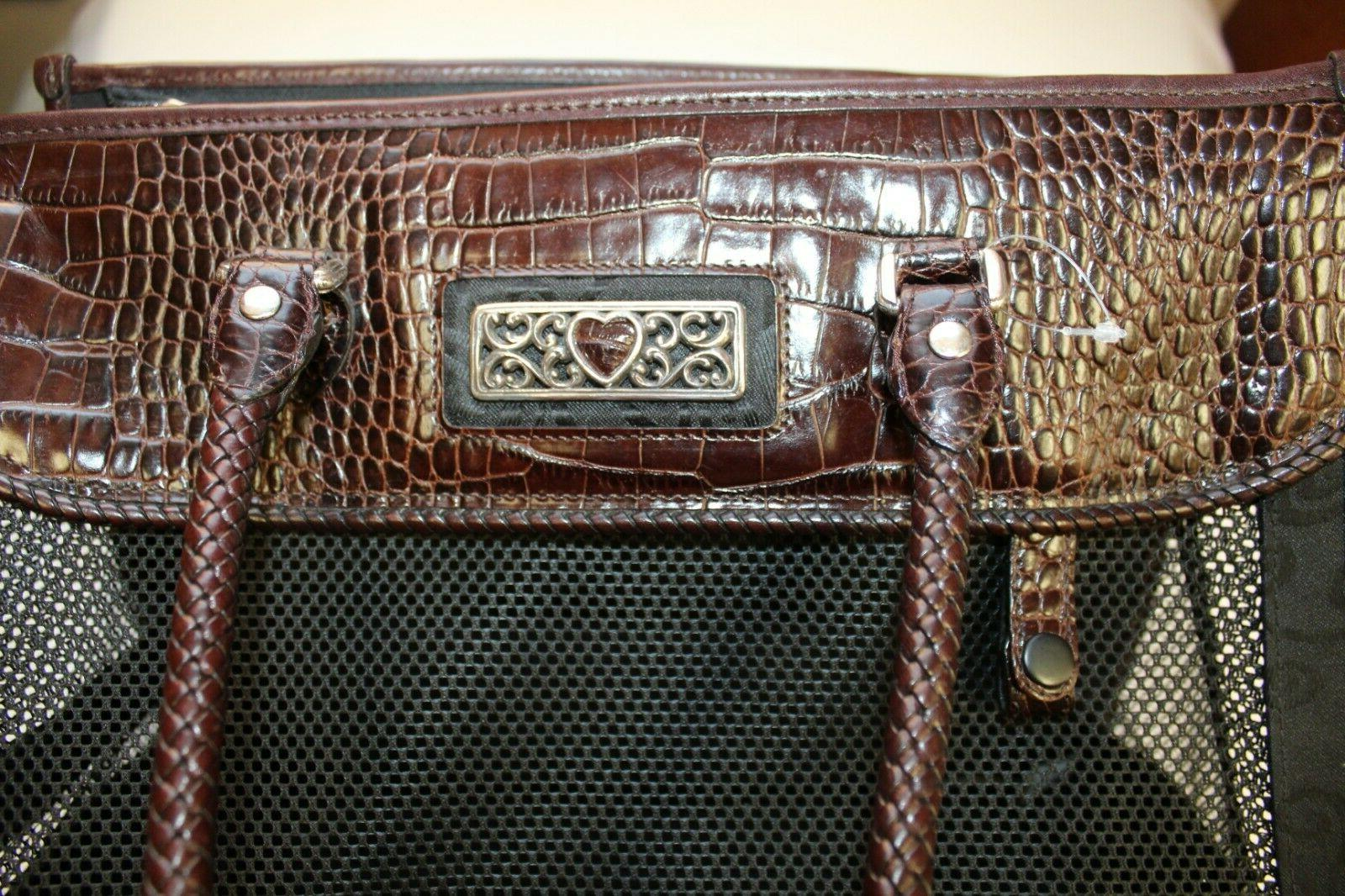 Brighton Carrier Brown Leather