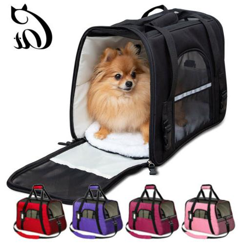 us small cat dog pet carrier soft