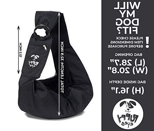 Carrier Adjustable Dog for Medium Dogs 16 lb Lightweight & Easy-Care Bonus seat and E-Book