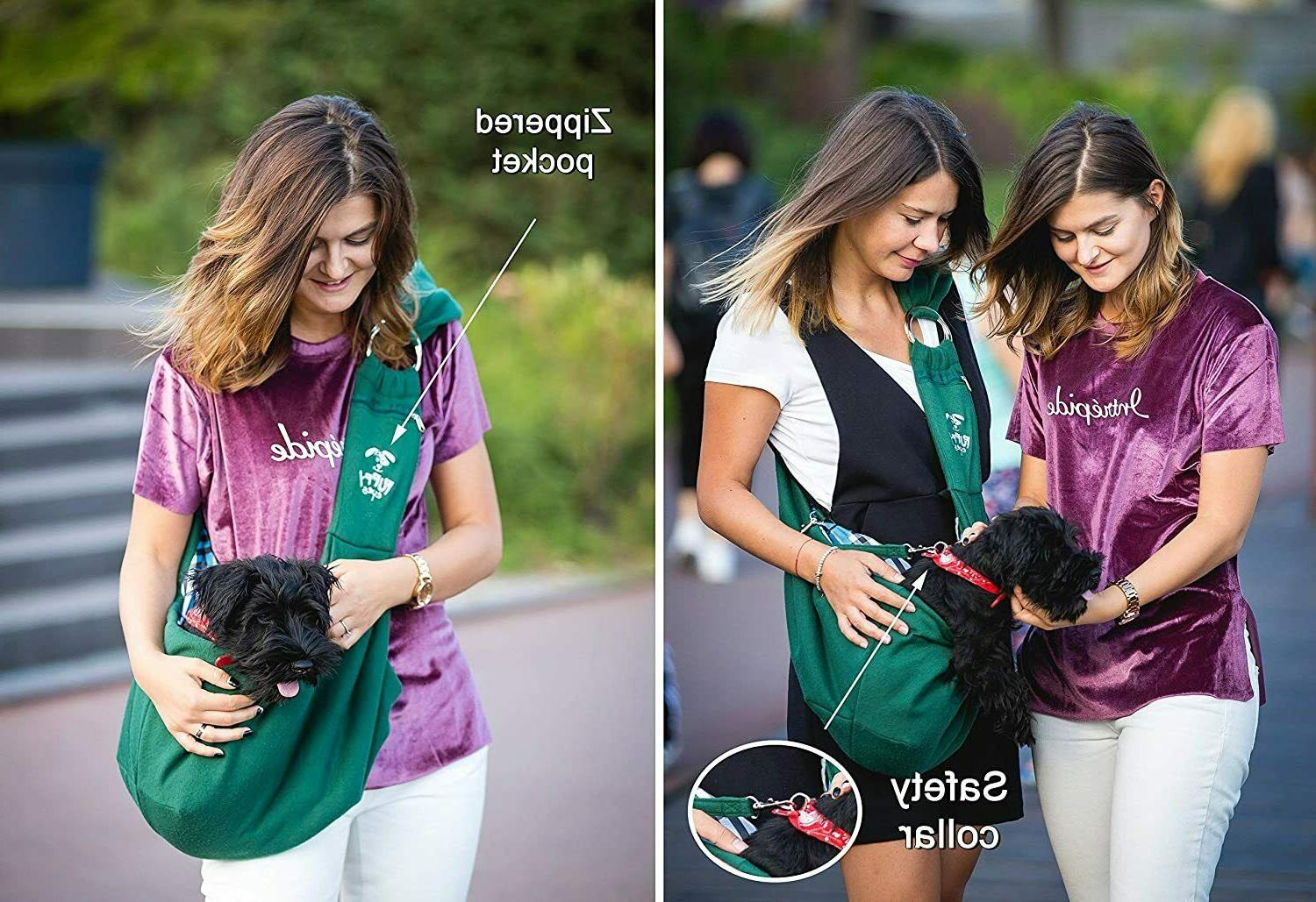 Waterproof Carrier Comfortable Dog Sling for Small