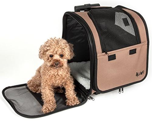 PET Breathable Airline Approved Pet Dog Size, Brown