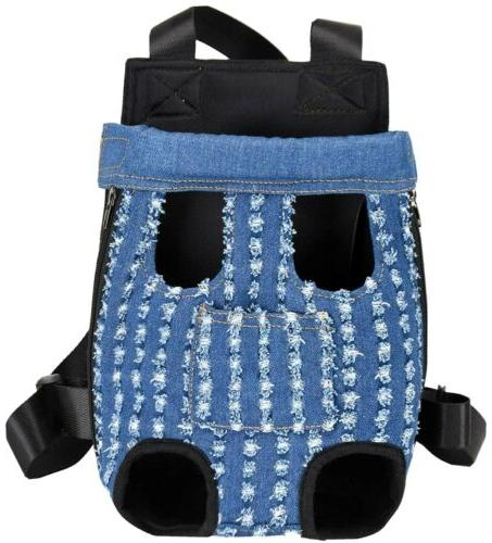 xxl dog cat legs out carrier backpack