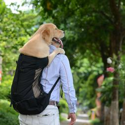 Large Puppy Pet Dog Cats Carrier Bag Backpack For Outdoor Ri