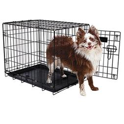 "Aspen Pet Single-Door Home Training Crate, 24""W x 17""D x 20"""