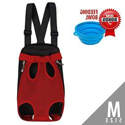 Legs Out Dog Carrier Backpack, Hands-free Pet Front Carrier