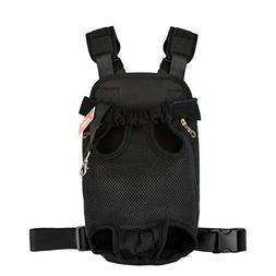 NICREW Legs Out Front Pack Pet Carrier, Hands-Free Adjustabl