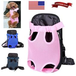 Legs Out Front Dog Carrier Adjustable Pet Cat Puppy Travel B
