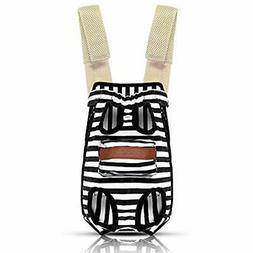 COODIA Legs Out Front Pet Dog Carrier Chest Backpack Cat Pup