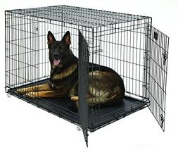 Life Stages Double Door Dog Crate 48 inch x 30 inch x 33 inc