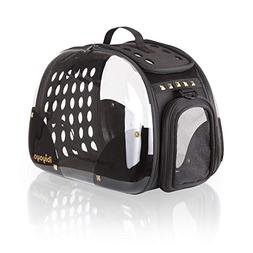 ibiyaya Top Loaded Pet Carrier for Cats and Dogs, Collapsibl