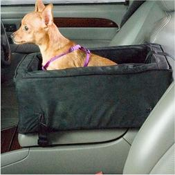 Large Luxury Console Pet Car Seat Grey And Black