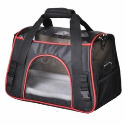 Luxury Foldable Pet Travel Carrier Bag for Cats & Small Dogs
