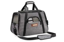 Luxury Pet Carrier Airline Approved Premium Under Seat Compa