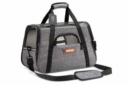 SLEEKO Luxury Pet Carrier Under Seat Airline Approved Dogs &