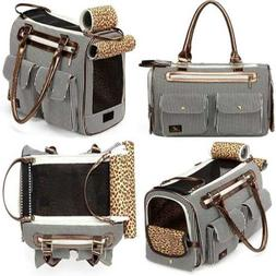 Luxury Pet Purse Handbag Tote Soft Sided Pet Travel Carrier