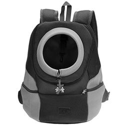 Mogoko Airline Approved Cat Dog Backpack, Pet Carrier Front