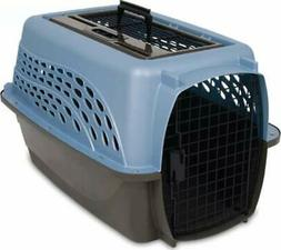 Medium Dog Cat Travel Crate Carrier Two Door Top Load 24-Inc