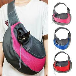 Medium Large Pet Dog Cat Carrier Tote Shoulder Bag Sling Sin