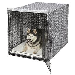 NEW Metal Folding Dog Cat Cover X Large Pet Travel Kennel Ca