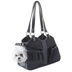 Petote Metro Classic Dog Carrier, Black Sable, Small
