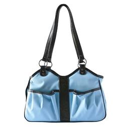 Petote Metro Dog Carrier Bags with 2 Open Pockets, Turquoise