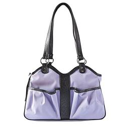 Petote Metro Dog Carrier Bags with 2 Open Pockets, Lilac, Sm