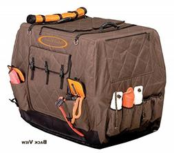 Mud River Dixie Kennel Cover, Brown, Large Extended