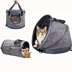 Siivton Multifunctional Cat Bed, Soft Cat Carrier/Cat Tunnel