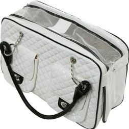 mygift mg colletion white quilted patent leather