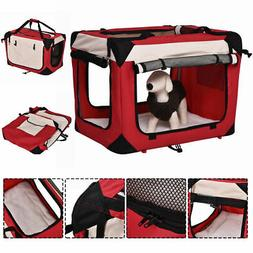 New 4 Sizes Pet Dog Carrier Portable House Soft Sided Cat Tr