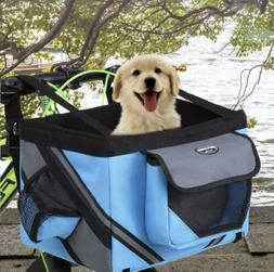 New Basket Carrier Bike Bicycle Front Handlebar Puppy Small