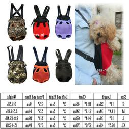 New Comfortable Design Pet Dog Carrier Backpack Front Net Ny