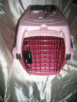 New Petmate Kennel Cab Dog/Cat Airline Pet Carrier Pink