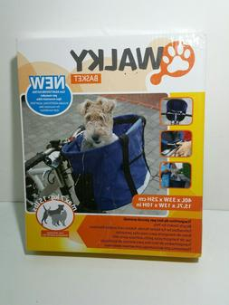 New, open - WALKY BASKET - Pet Dog Bicycle/Bike Carrier - Up