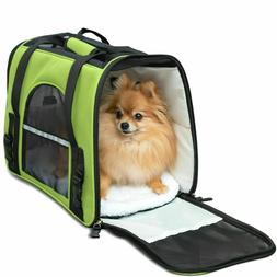 new pet carrier soft sided cat dog
