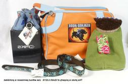 NEW SMALL DOG CAT PET TRAVEL CARRIER Bag, Leash, Collar Boot