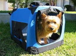 NEW Small Travel Foldable Cat Dog Pet Soft-Sided Crate/Carri