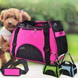 nylon and mesh pet carrier soft sided