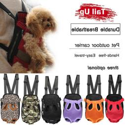 Nylon Mesh Pet Puppy Dog Cat Carrier Backpack Front Net Bag