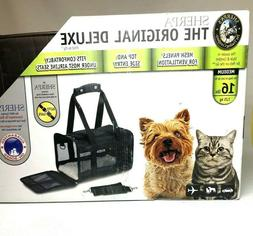 Sherpa  Original Deluxe Dog And Cat Carrier With Seat Belt S