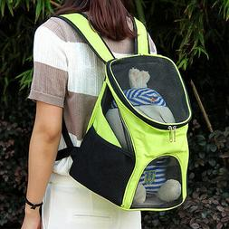 Outside Breathable Mesh Backpack Pet Cat Dog Carrying Carrie