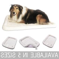 Paws of Mind Padded Bolster Pet Bed for Dogs & Cats by, Fits